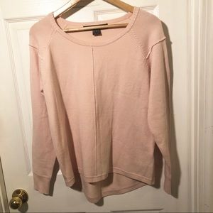 French connection Pink Crew Oversized Sweater